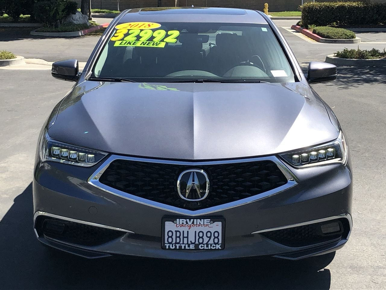 Pre-Owned 2018 Acura TLX W/ADVANCE PKG