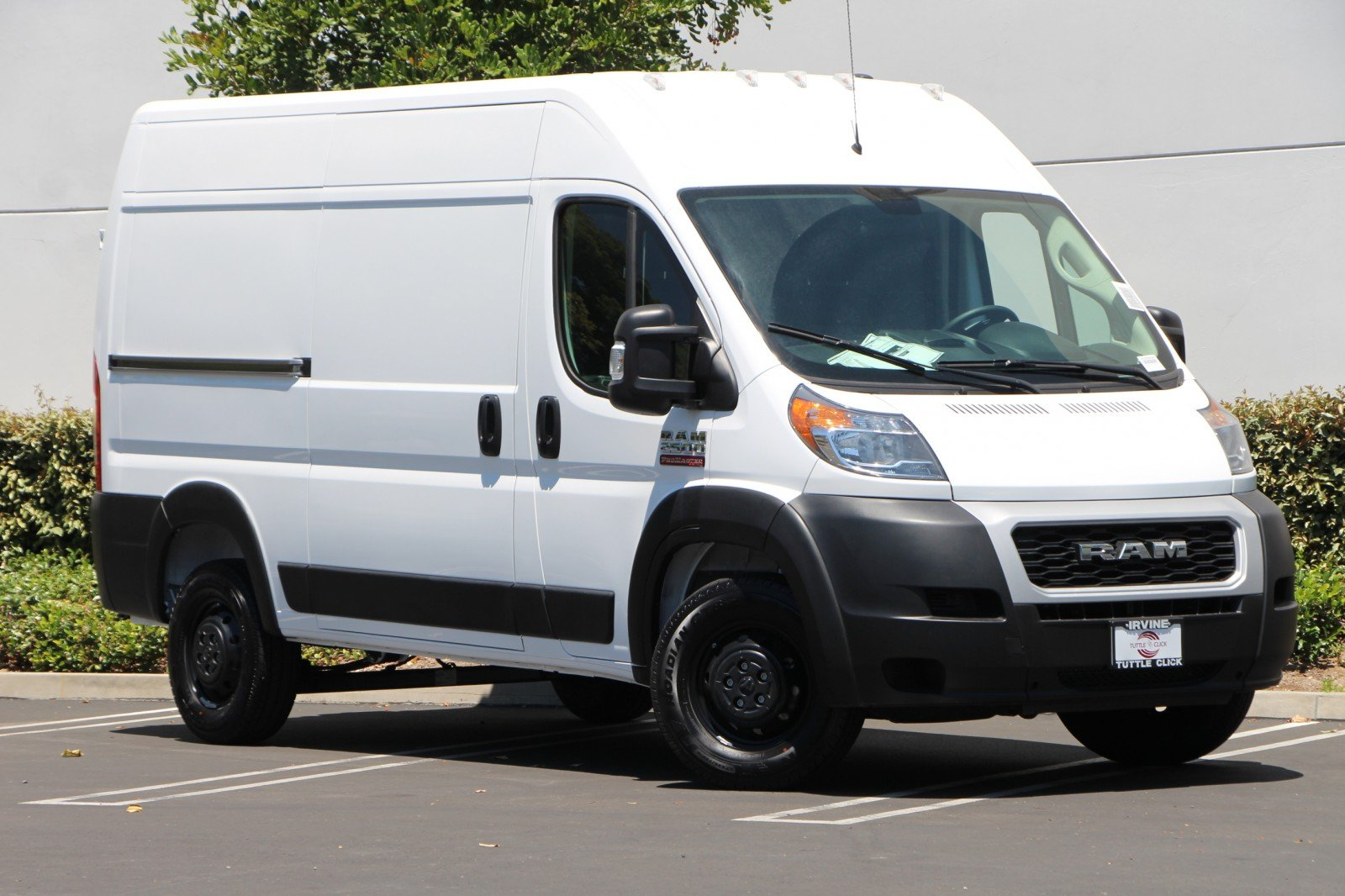 Dodge Ram Promaster >> New 2019 Ram Promaster 2500 Cargo Van High Roof 136 Wb